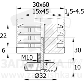 30-60М10П.D32x30